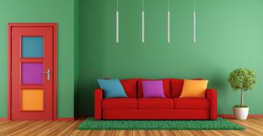 harmonização de cores no ambiente