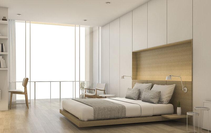 armário planejado no quarto