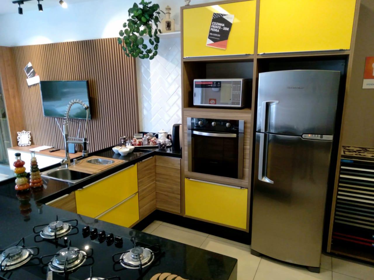 Cozinha Sem Pedra Sem Cooktop Sem Bica Sem Geladeira Sem Forno Sem Microondas